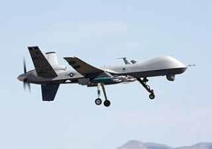 """Der """"Reaper"""" - ein unbemanntes, bewaffnetes Flugzeug der US Air Force (Foto: Wikipedia)"""