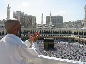 Pilgerströme in Mekka. (Foto: Wikipedia / Ali Mansuri. Lizenz CC BY-SA 2.5)